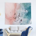 Blue Ocean Series Printing Wall Hanging Tapestry for Bedroom Home Decor 6#_150x130 (215g)