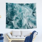 Blue Ocean Series Printing Wall Hanging Tapestry for Bedroom Home Decor 10#_150x130 (215g)