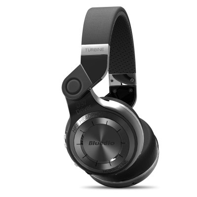 Bluedio T2 Bluetooth Headphones black