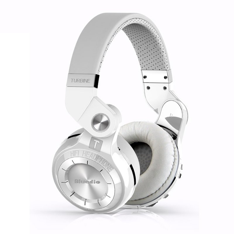 Bluedio T2S Stylish Headphones White