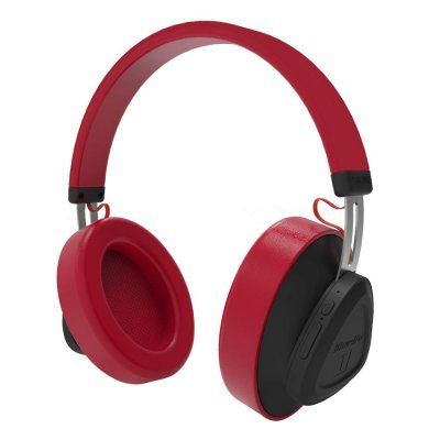 Bluedio Wireless Headphone with Mic - Red