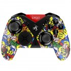 Bluetooth 3.0 USB Interface Gamepad Joystick 650mAh Battery Plastic for Android IOS PC Colorful