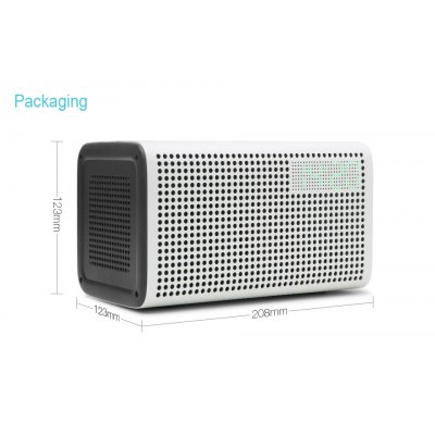 Bluetooth 4.0 Voice Control Speaker-White
