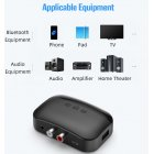Bluetooth 5 0 Audio Receiver Nfc Bluetooth Receiver Hands free Support Tf Card Usb Playback Wireless Adapter black