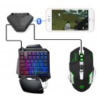 Bluetooth 5.0 Direct Plug Winner Winner Chicken Dinner Gaming Controller Mouse Keyboard for PC Laptop gampad+mouse+keyboard set
