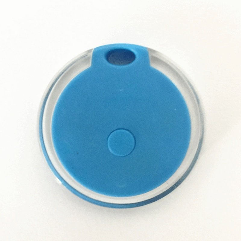 Bluetooth Anti-lost Device Portable Mobile Phone Burglar Alarm blue