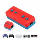 Bluetooth Converter Switch to NGC WII NES SNES Classic Handle Converter Red + purple