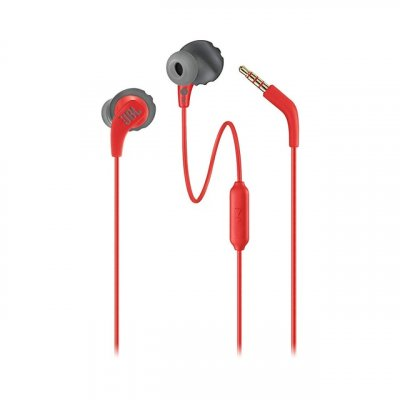 Bluetooth Earphone JBL ENDURANCE Run BT Wireless Bluetooth Earphones Sports Headphones IPX5 Waterproof Headset Magnetic Earbuds with Microphone red