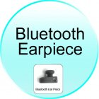 Bluetooth Earpiece for CVCJ B04 2GEN Car Steering Wheel Bluetooth Adapter   Wireless Earpiece
