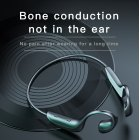 Bluetooth Headset Bone Conduction Wireless Ear-mounted Sports Waterproof Headset black