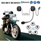 Bluetooth Helmet Headset Wireless Handsfree Stereo Earphone Motorcycle Helmet Headphones black