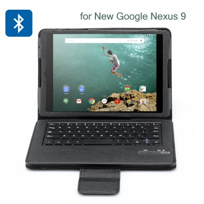 Bluetooth Keyboard Case for Google Nexus 9