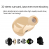 Bluetooth Mini earphone wireless headset built in microphone  stereo earplug intelligent de noise  support iOS and Android mobile phones