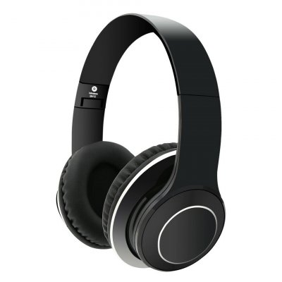 Over Ear Stereo Bluetooth Headphones - Black