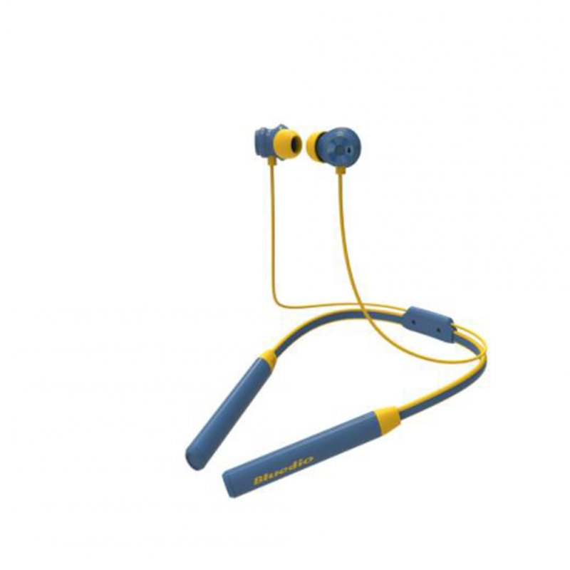 Bluetooth Sports Headphones TN2 Source Noise Cancellation Wireless Headphones for Music Game blue