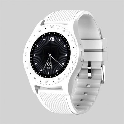 Bluetooth Sports Watch with Camera white