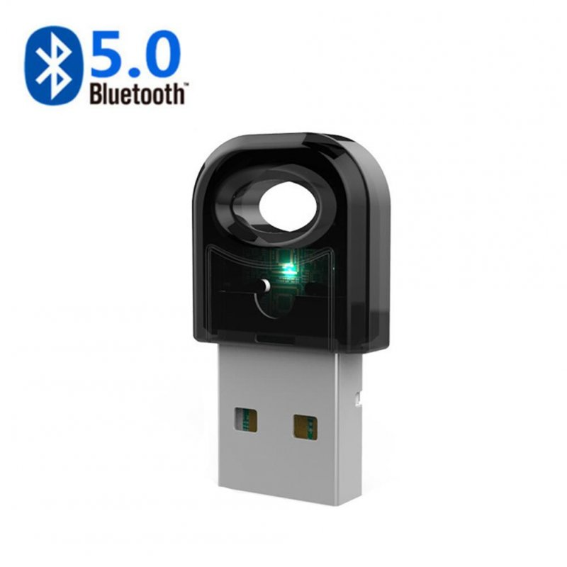 Bluetooth Usb Adapter Bluetooth 5.0 Receiver Audio Dongle Wireless Transmitter black