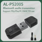 Bluetooth Wireless Headset Adapter For Ps5 Transmitter Pc Computer For Ps4 For Switch Bluetooth Receiver black