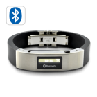 Bluetooth bracelet with vibration function and caller ID display  Have you ever missed a few calls on your cell phone because it was on silent mode or you just