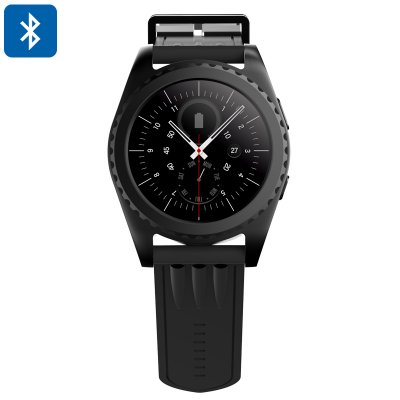 Bluetooth Smart Watch (Black)