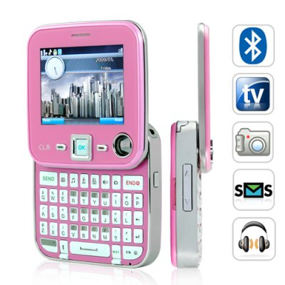 Dual SIM QWERTY Cosmopolitan Cellphone