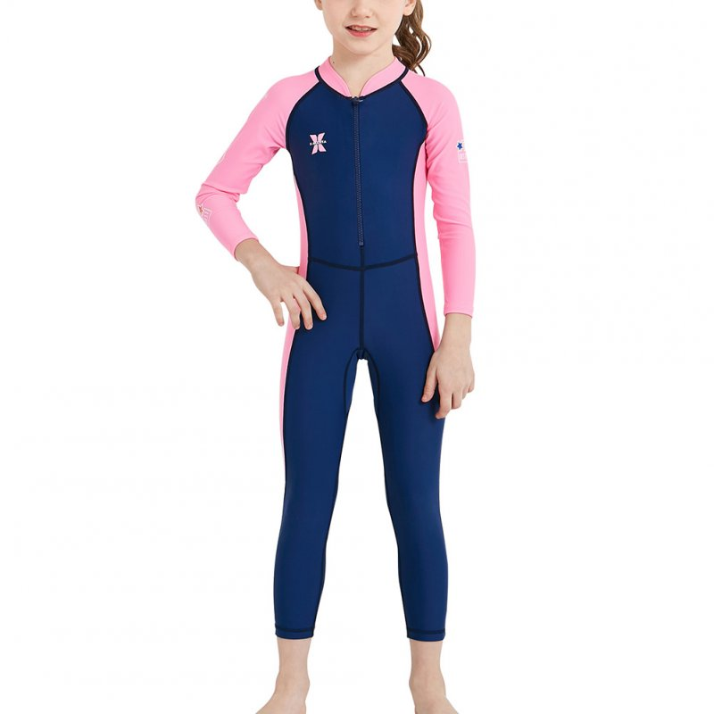 Boys Girls Wetsuit One Piece Swimsuit