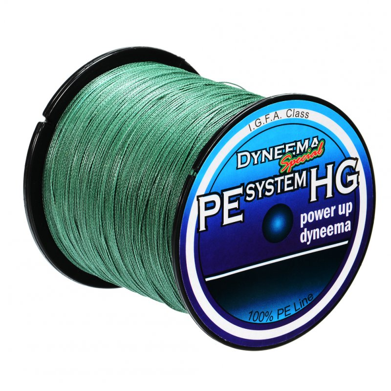 Braided Fishing Line 500M/547Yds, 20Lb To 80Lb Advanced Durable 4 Strand Fishing Line for Saltwater & Fresh Water Surf Fishing,Bass Fishing,Fly Fishing, Main Fishing Line Dark Green Dark green