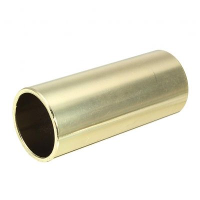 Brass Bass Guitar Slide Guitar String Finger Tube Slider for Stringed Instrument Ukulele Parts Gold_60mm length