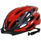 Breathable MTB Bike Bicycle Helmet Protective Gear Red black_Universal