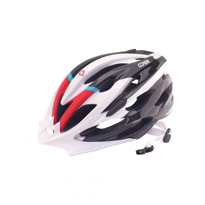Breathable MTB Bike Bicycle Helmet Protective Gear White black_Universal