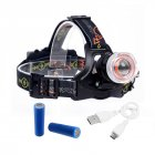Bright 1000LM Headlamp Flashlight