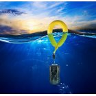 Bright Color Swimming Driving Anti-lost Sports Floating Waterproof Camera Wrist Strap Practical Handle for GoPro yellow
