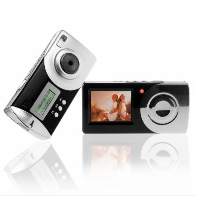 Dual Digital Camera + MP3 Player - 256MB Flash Memory