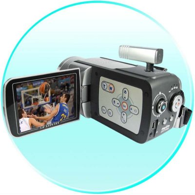 Professional Grade Digital Camcorder - Optical + Digital Zoom
