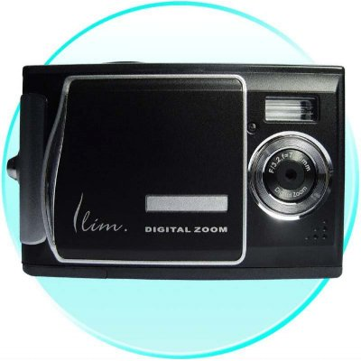 1/2.5 Inch CMOS Digital Camera - SD Slot + 5 Mega Pixels