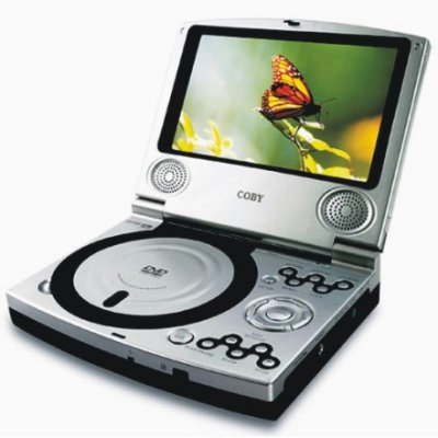 7-in TFT Region Free Portable DVD Player