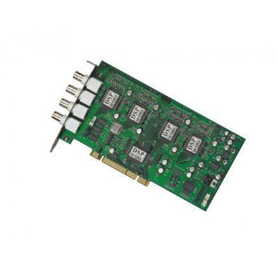 PCI DVR Card - MPEG4 - 4 Channel Input - 100fps
