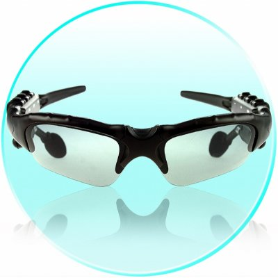 MP3 + Bluetooth Player Sunglasses -256MB  Flash Memory