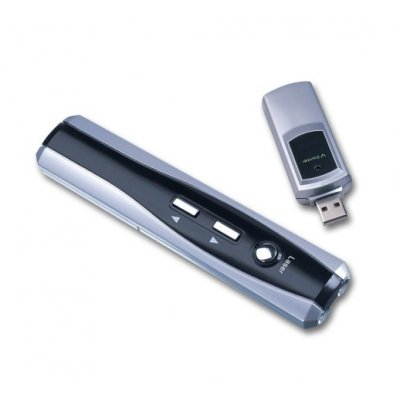 RC Laser Pointer, Page up/down, Built-in Memory: 256MB
