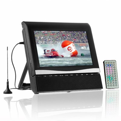 Portable DVD Player + Digital TV DVB-T - 9.2 Inch TFT