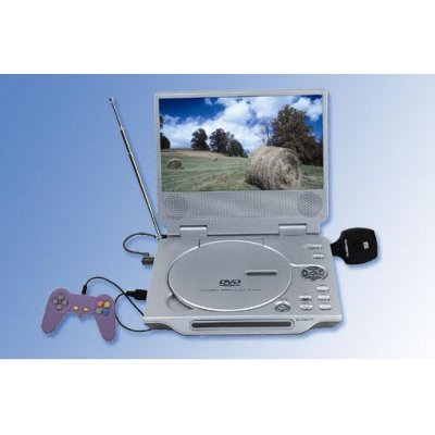 Multimedia Portable DVD Player, Game, TV, 8-inch TFT(16:9)