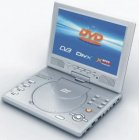 9.2 Inch TFT Portable MPEG4 DVD Player + TV