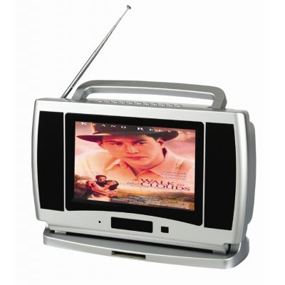 Portable DVD Player, 9.2-inch - DVD/ SVCD/ VCD/ CD/ MP3/ MP4