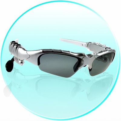 WMA + MP3 Player Sunglasses 256MB - Stereo Sound Effect