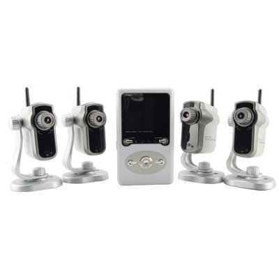 4 Wireless Cameras and Reciever