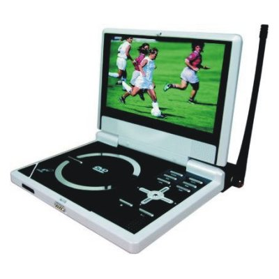 7-in Portable MPEG4 DVD Player + DVB-T