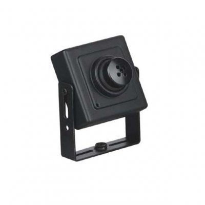 "Wired 1/3"" CCD Camera With Adapter CE, 0.05Lux/F1.2"