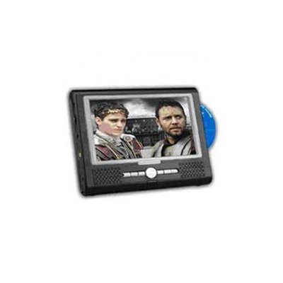 Portable DVD Player, 7inch (16:9) LCD, Connect to Camera or Game