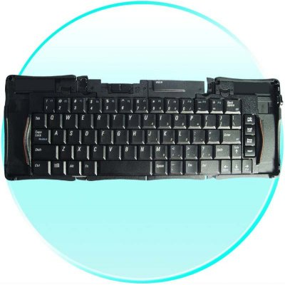 Foldable Keyboard + Finger Mouse Combo - Travel Set