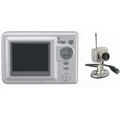 2.4GHz 4 Channel Baby Monitor With MP4 Player Wireless Receiver